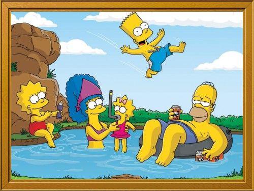 jajajajajajjaja ya lo hice: Los Simpsons